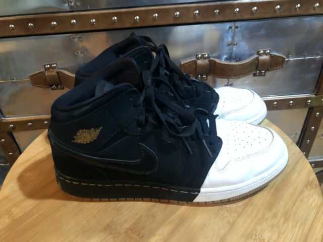 Nike Air Jordan 1 Mid GG Black Metallic