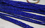 2x4mm-Natural-Faceted-Sapphire-Blue-Jade-Rondelle-Gemstone-Loose-Beads-15-034-AAA thumbnail 1