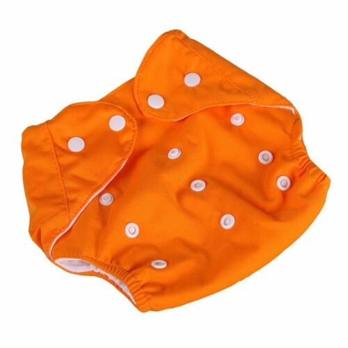 Cute Baby Soft Cloth Diaper Adjustable Size Reusable Breathable Nappy Washable