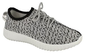 Spot On F7055 Ladies Grey Fabric Lightweight Flexible Summer Canvas Trainers