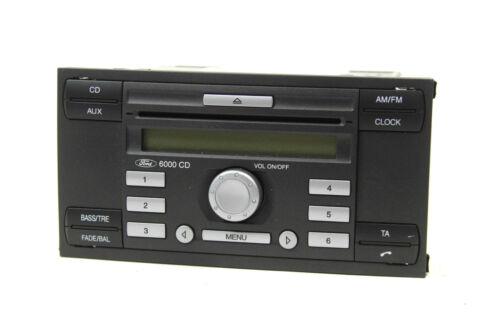 ORIG ford autoradio single CD 6000 con código focus S-Max fiesta tránsito Galaxy