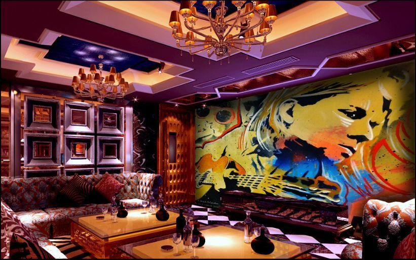 3D Graffiti 05699 Parete Murale Foto Carta da parati immagine sfondo muro stampa