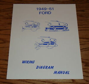 image is loading 1949-1950-1951-ford-car-wiring-diagram-manual-