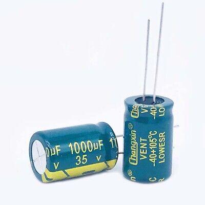 10PCS 35V 470UF 105°C Radial Electrolytic Capacitor 10X13mm