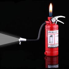 Novel Funny Fire Extinguisher Butane Gas Lighter Windproof Lighter Gifts NO23