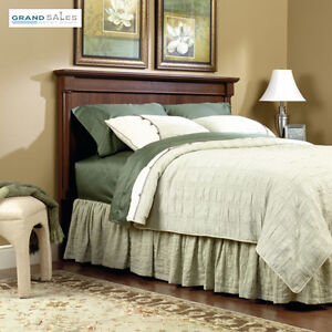 Details About Full Queen Size Bed Headboard Only Wood Cherry Traditional Bedroom Furniture