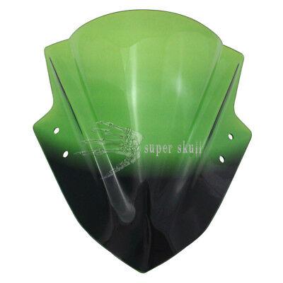Double Bubble Windshield WindScreen for Kawasaki Ninja 300 EX300 2013-2015 13