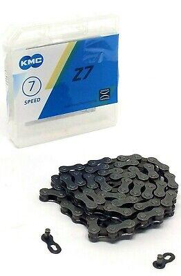7 Speed 116 Links Chain Gray KMC Z6 6