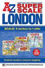 Super Scale London Street Atlas by Geographers' A-Z Map Company (Paperback, 2010)