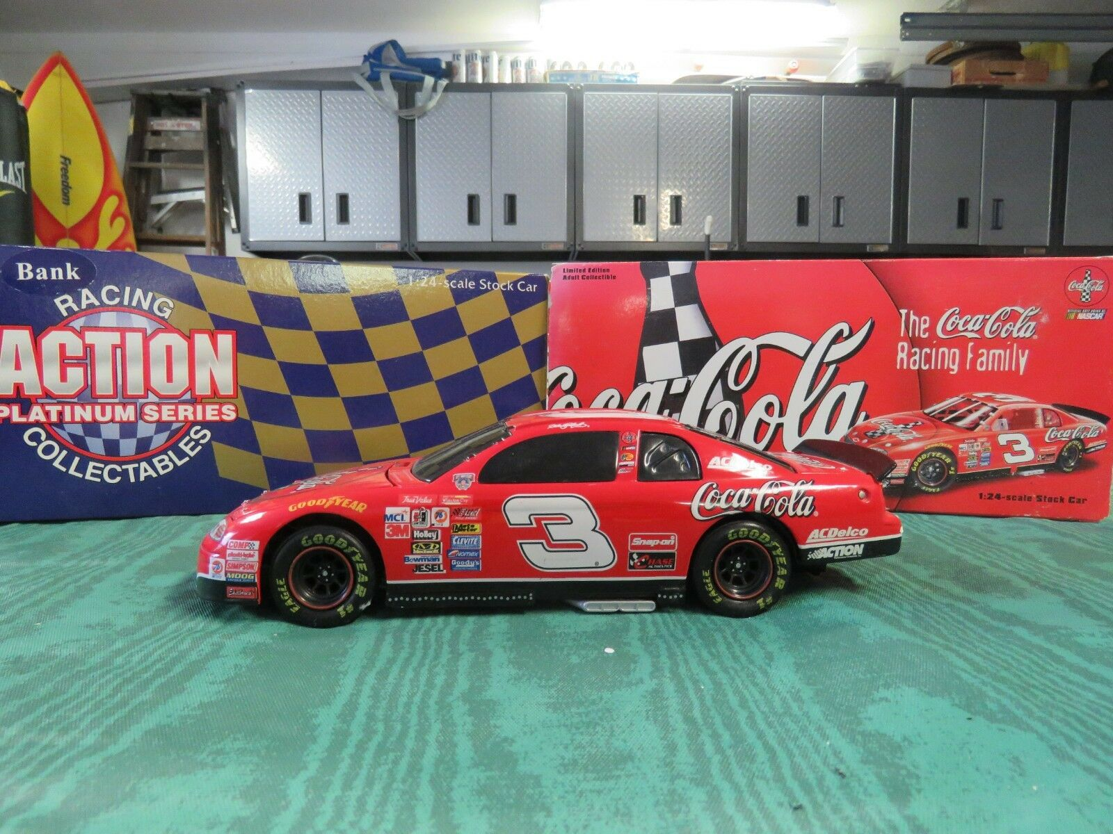 NASCAR,ACTION,DALE EARNHARDT,COKE,1998 MONTE CARLO,LIMITED EDITION,1 24