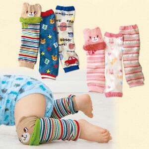 Qu/_  Boy Girl Leg Warmers Stripe Dots Print Winter Toddler Baby Knee Length Sock