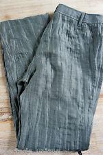GINA LAURA * Crinkle Hose * Olivgrün * Leichtes Material * Sommerhose * Gr 38