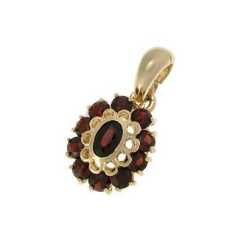 PENDENTE gioiello in oro pendenti donna donna donna con pietre 112 2b01a2