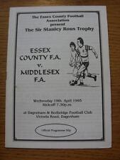 19/04/1995 Essex County v Middlesex County [At Dagenham And Redbridge] (No appar