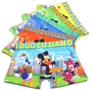 wholesale mickey Children cartoon boy cotton underwear Boxer shorts gifts