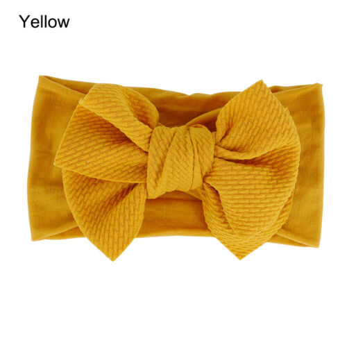 Headwear Toddler Turban Kids Bow Headband Corn Hair Band Soft Baby Girl