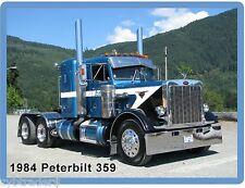 TRACTOR ONLY DCP 1//64 SCALE PETERBILT 379 BLUE//BLACK//WHITE PAUL MARCOTTE FARMS