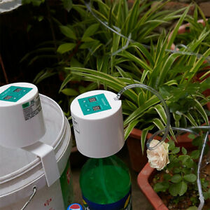 Details About Diy Automatic Drip Irrigation System Kit Timer Self Watering Pot Plants Indoor