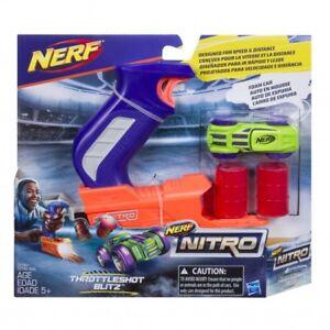 Nerf-Nitro-Throttle-Shot-Blitz-Blue-Blaster-NEW