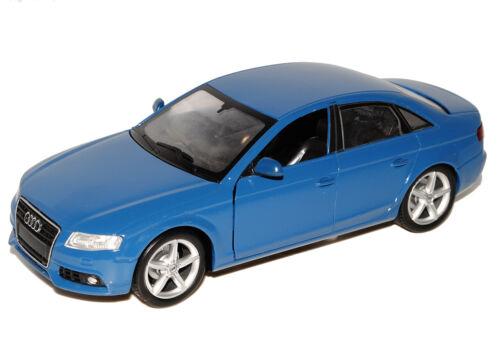 Audi A4 A 4 Limosuine B8 B 8 2009 Blau Blue 1//24 New Ray Modellauto Modell Auto