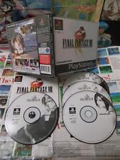 Playstation PS1:Final Fantasy VIII 8 [TOP RPG & 1ERE EDITION] COMPLET - Fr