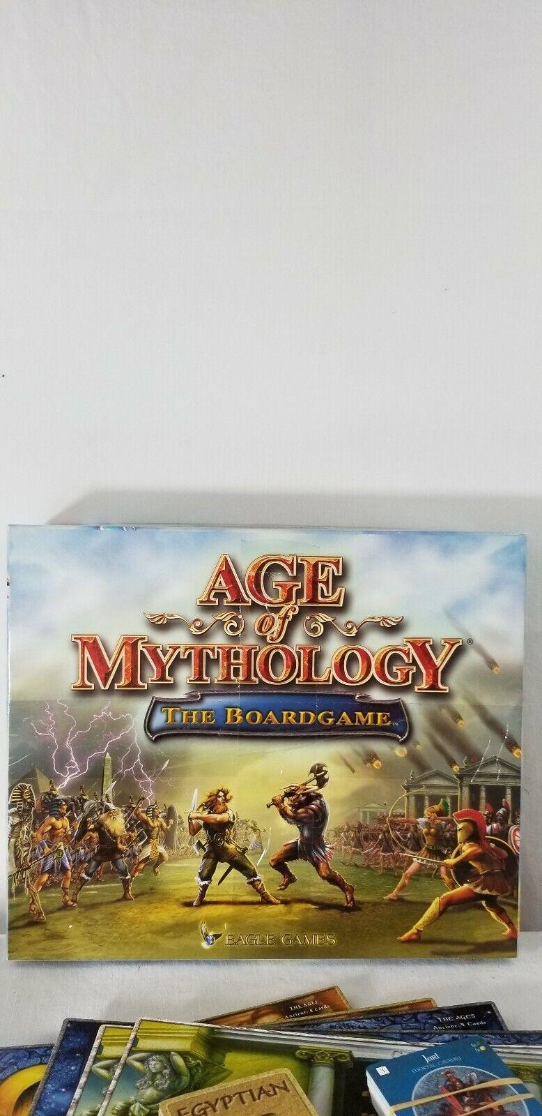 Age of Mythology The tavola  gioco by Eagle giocos tavolagioco 2003 100% completare  100% nuovo di zecca con qualità originale