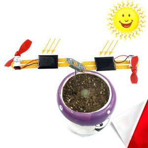 Kids DIY Assembly Solar Power Windmill Kit Educational ...