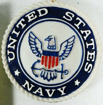 U.S. Navy Christmas Ornament - 3D Carved or Molded Design ...