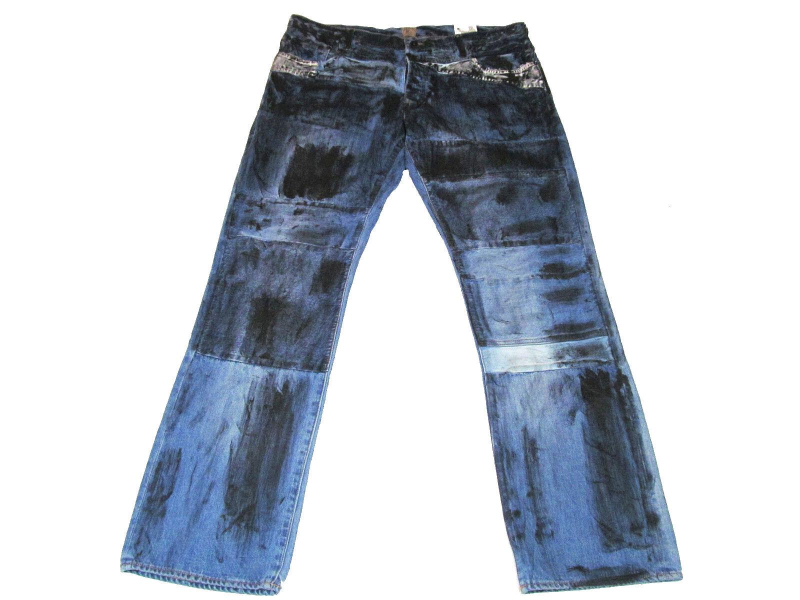 NWT PRPS Goods Mens 32Wx34L Barracuda Equuleus bluee Jeans E73P64X  MSRP