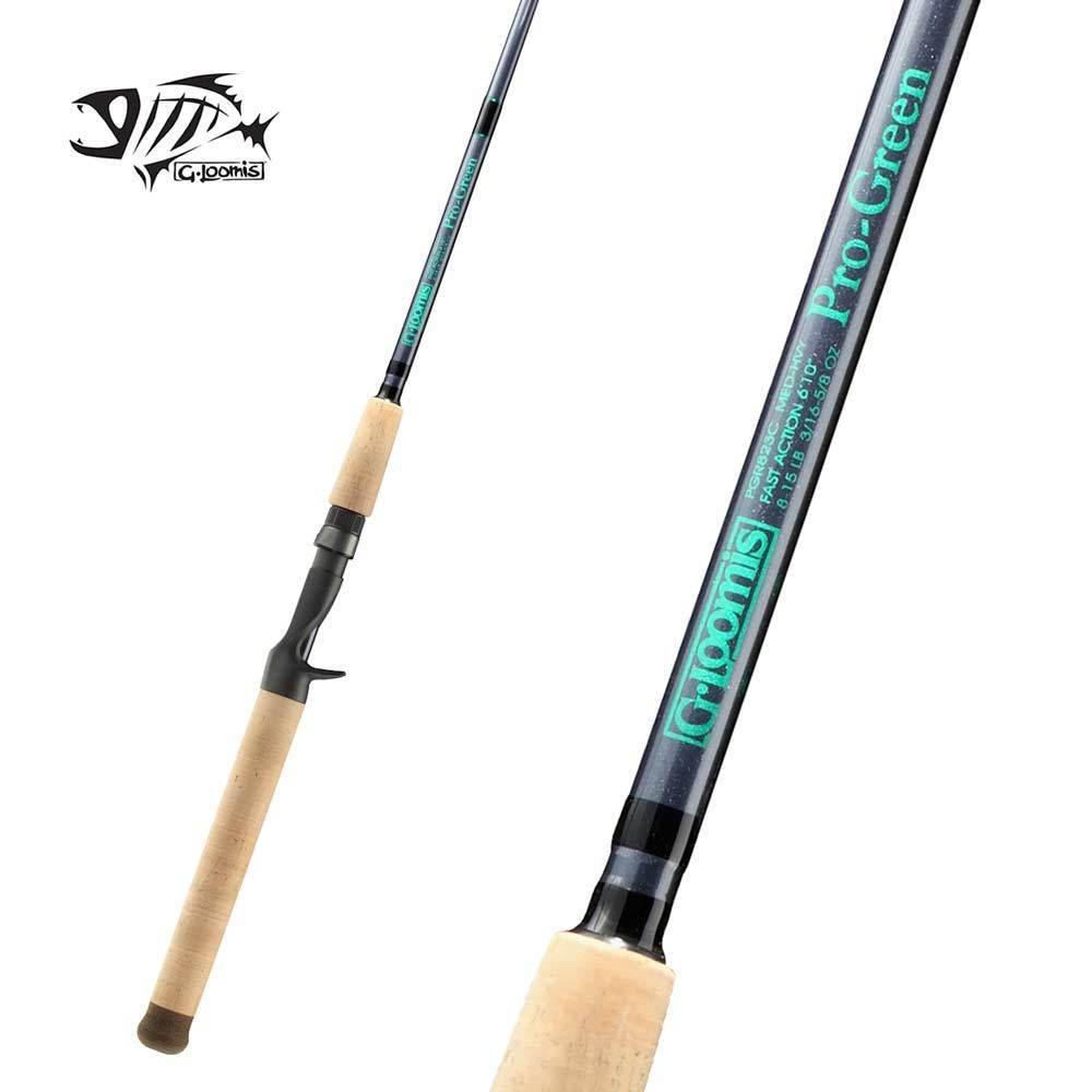 G Loomis Pro-Green Saltwater Casting Rod PGR881C 7'4  Medium Light 1pc