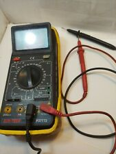 Can Tech Function Digital Multimeter P37772