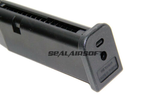 WE 20rds Gas Airsoft Toy Magazine For WE G19 G23 GBB Series Black WE-MAG-036
