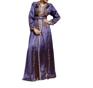 48e1e1e15c8 Image is loading Royal-Moroccan-Caftan-ethnic-bridal-dress-morocco-Wedding-