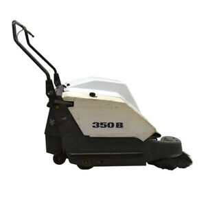 Advanced-411001-350B-Industrial-30-034-12VDC-Push-Floor-Scrubber-w-APA-Charger