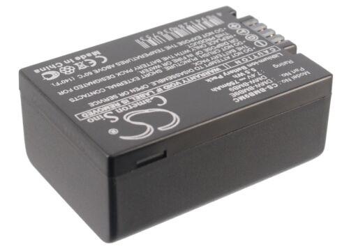 Premium Battery for Panasonic DMW-BMB9PP DMW-BMB9 DMW-BMB9E Lumix DMC-FZ48