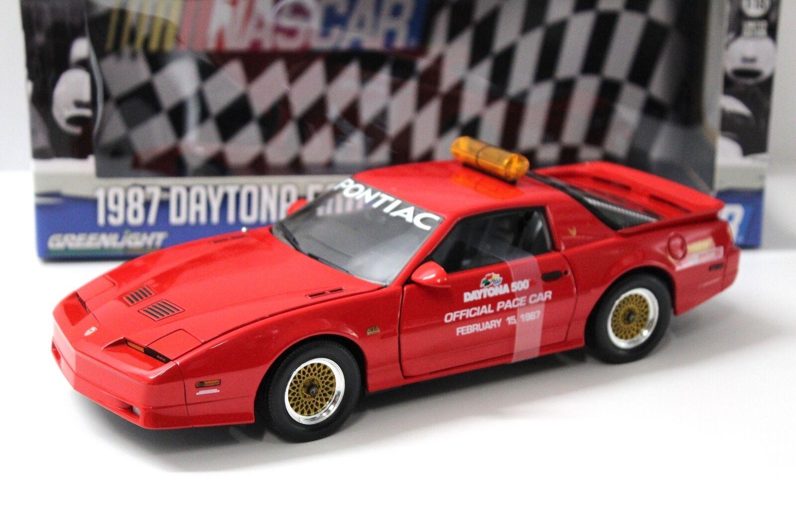 1 18 vertlight Pontiac GTA 1987 Daytona 500 Pace Car New chez Premium-modelcars