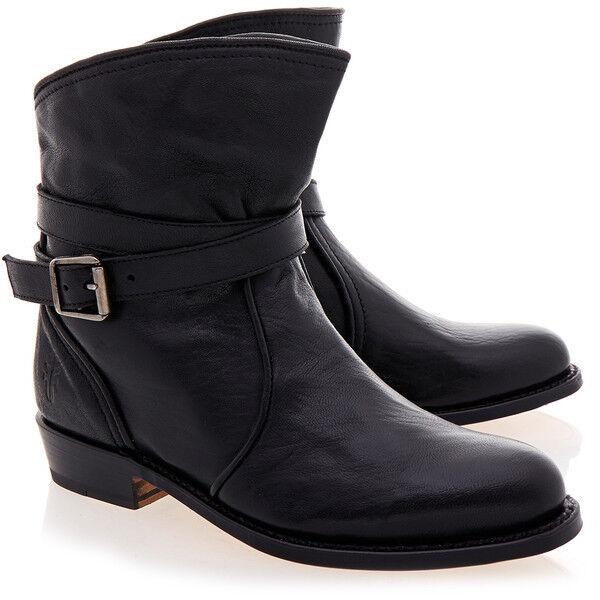 tutto in alta qualità e prezzo basso NEW  398 Frye Dorado nero Leather Ankle stivali scarpe scarpe scarpe Dimensione 7  alta qualità