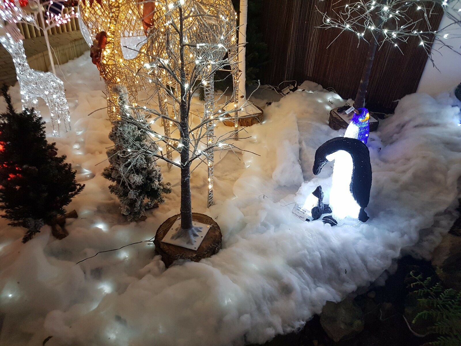 13ft Roll Fake Snow Christmas nativity soft white blanket artificial 71CM Wide