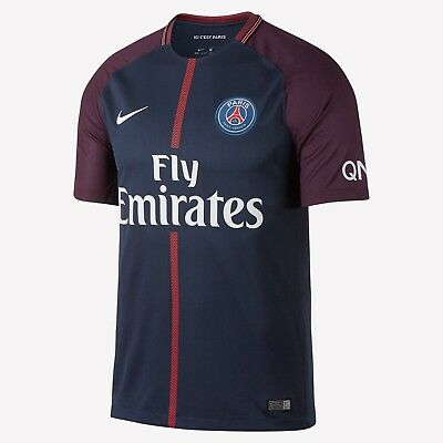 hot sale online 2ee0e 65cd2 NIKE PARIS SAINT-GERMAIN PSG HOME JERSEY 2017/18. | eBay