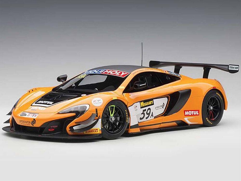 Autoart McLaren 650 S GT3 Bathurst 12 H gagnant 2016   59 A 1 18 Orange 81643