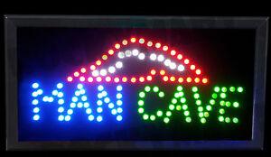 Image Is Loading Man Cave Led Light Party Mancave Bar Novelty