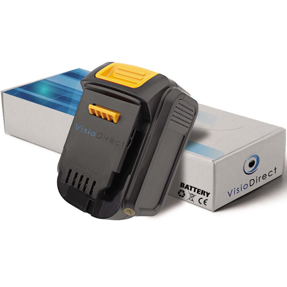 Batterie 14.4V 3000mAh pour Dewalt DCD730M2 - Société Française -