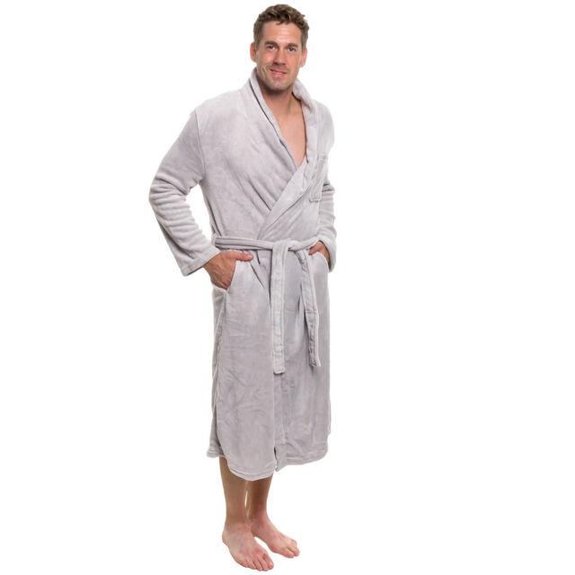 bfcea099e4 Buy Ross Michaels Mens Plush Shawl Collar Kimono Bathrobe Robe Light ...