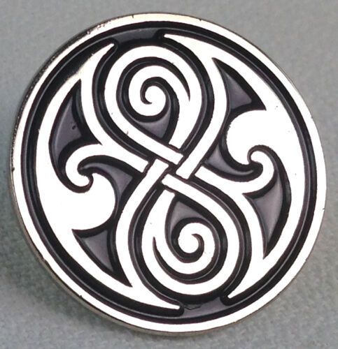 Doctor Who TV Series UK Imported Enamel Pin The Seal of Gallifrey Rassilon