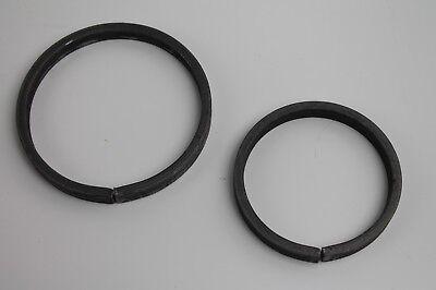 Ring Schmiedeeisen Material: 12 mm Außen roh Metall Ø: 110 mm Stahl S235JR