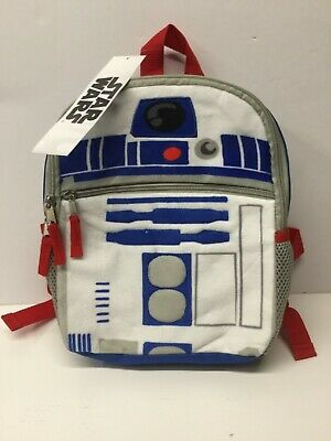 Disney star wars kids boys backpack with lunch box Darth Vader R2D2 NWT youth