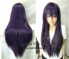 Hot Sell!Sixteen Colors New Fashion Long Straight Cosplay Wig 80cm Free shipping