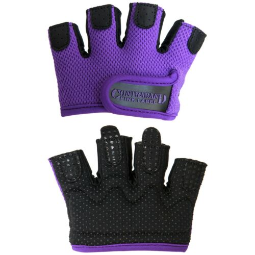 Contraband Pink Label 5537 Womens MICRO Lifting Gloves CLEARANCE 50/% OFF PAIR