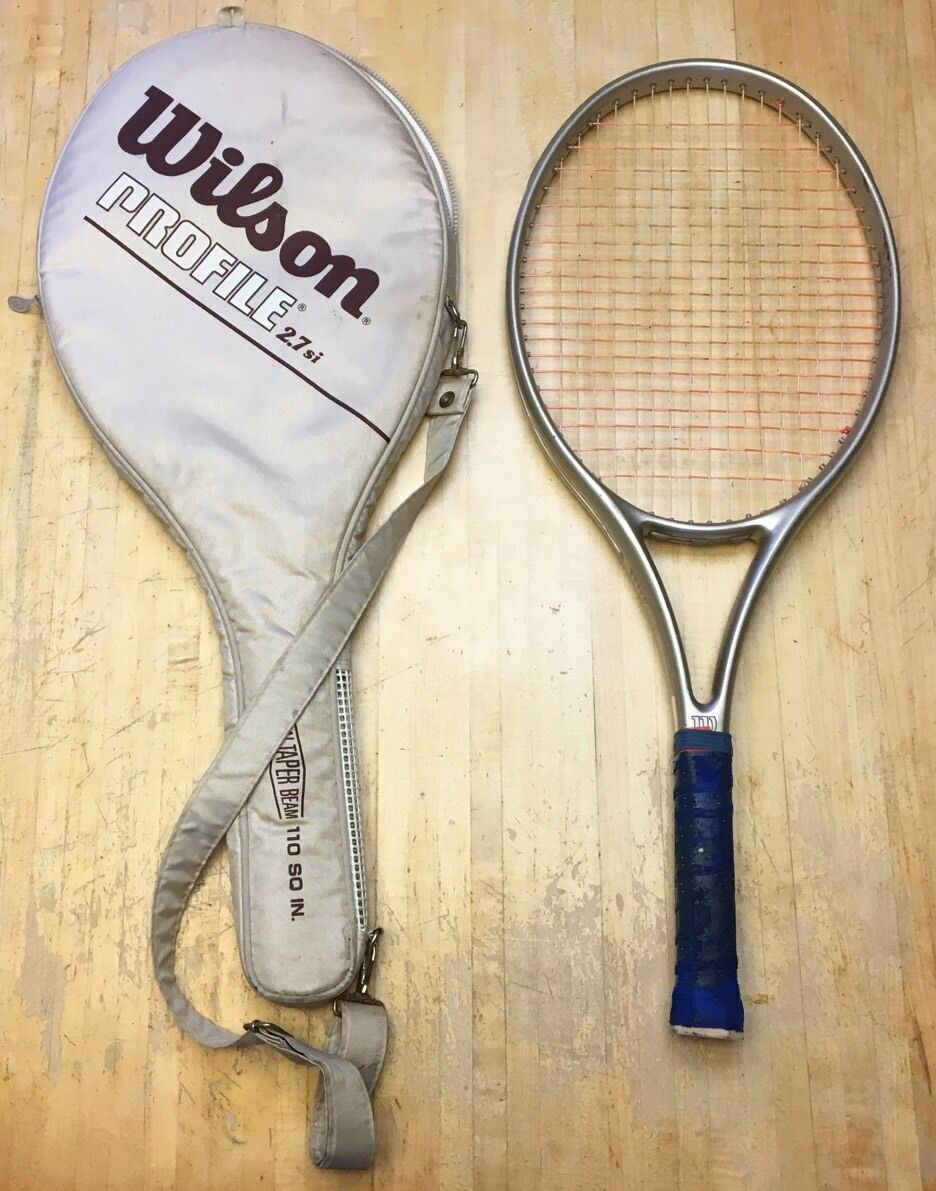 Wilson Profile 2.7 Si 110 Tennis Racquet 4 1 2 (WITH Case)