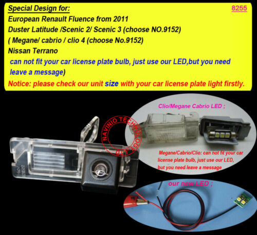 Rückfahrkamera für European fluence Duster Latitude Renault Logan MCV2 Master 2